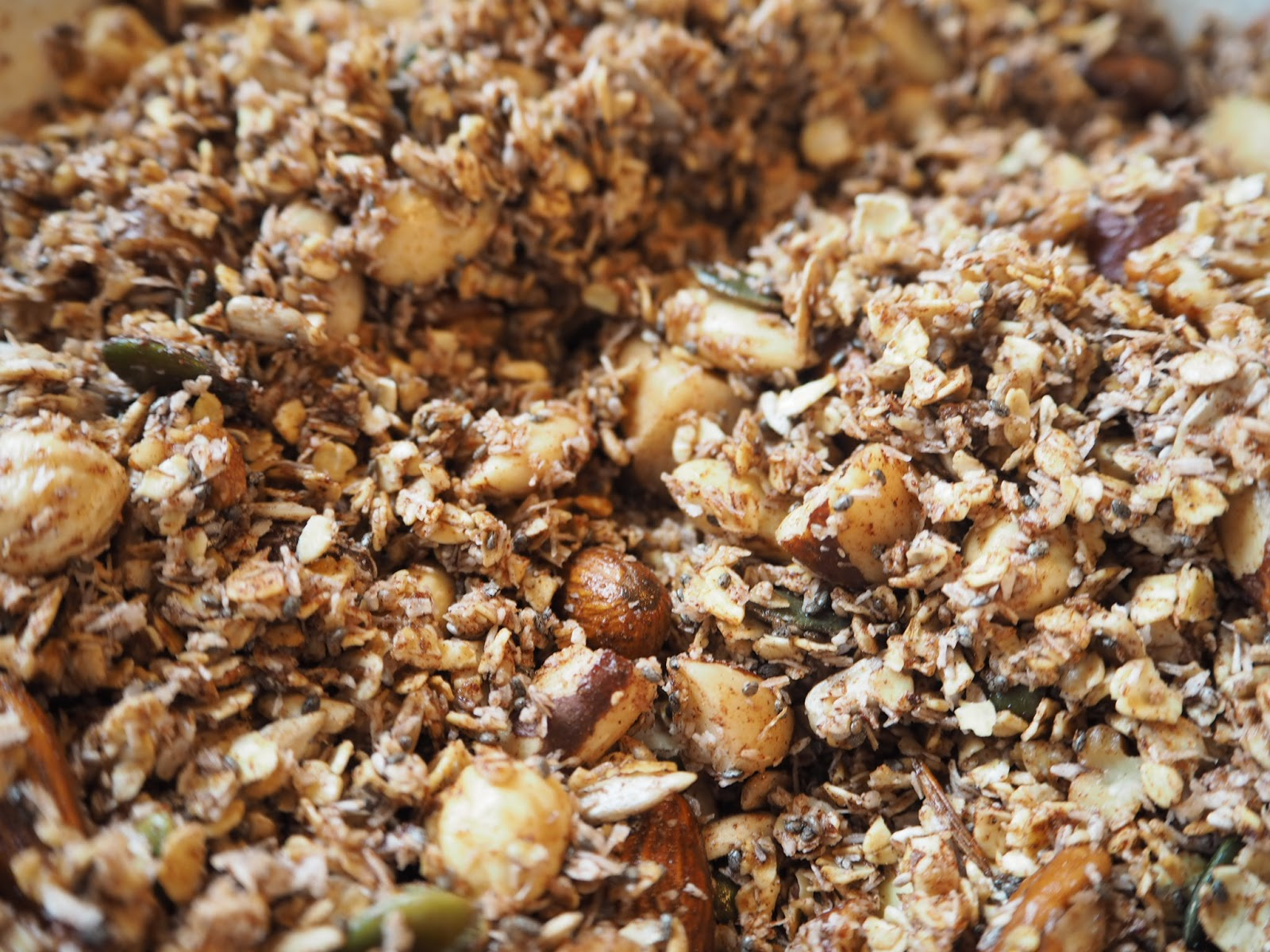 Cinnamon and Coconut Granola
