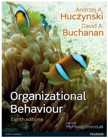Organizational buchanan behaviour pdf