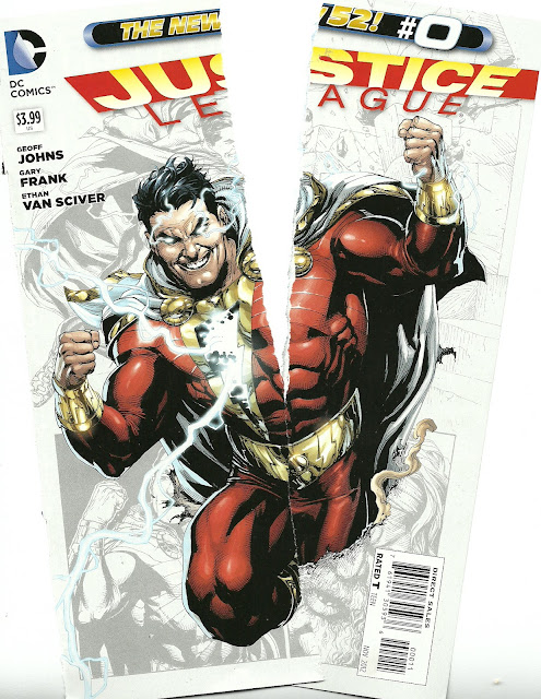 On The New Shazam In Justice League 0 Too Busy Thinking