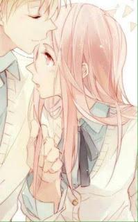 Foto Profile Facebook Couple / Pasangan Anime