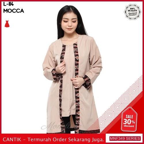 MNF349B97 Baju Muslim Wanita 2019 L 114 Batik 2019 BMGShop