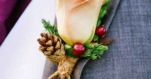 Winter Amp Fall Buttonhole Inspiration Hot Chocolates Blog