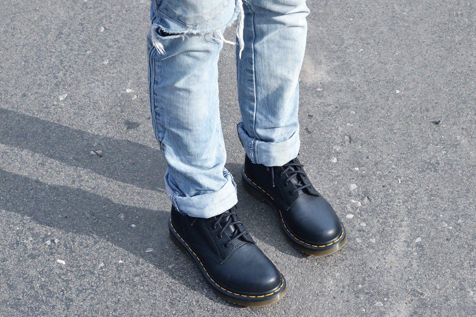 h&m trend jumper, dark green, black biker coat, asos, zara ripped jeans, dr martens boots, virginia, laid back, edgy, outfit, street style, belgian fashion blogger, belgische mode blogger