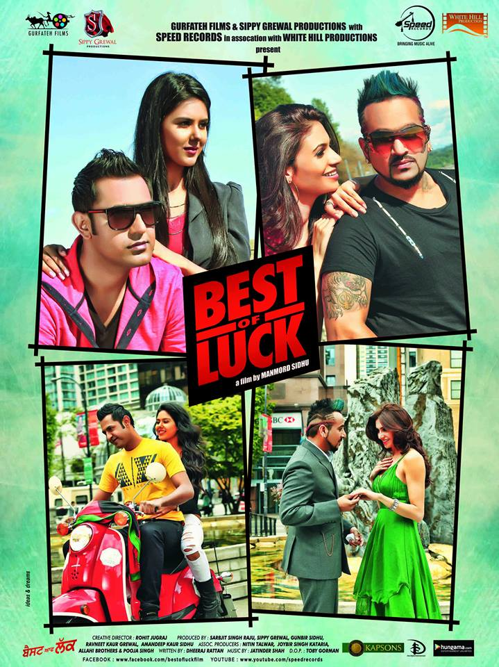 Best of Luck (2013) Punjabi Movie 400MB WEBRip 480p ESubs