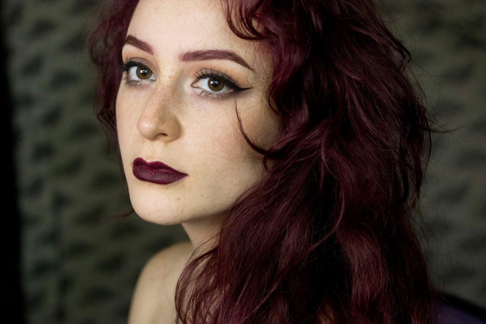 coffee_pls: Brows for Dark Red Hair (OCC Black Dahlia)