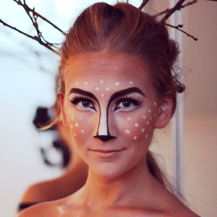 Stunning Halloween Animal Makeup Images - harrop.us - harrop.us