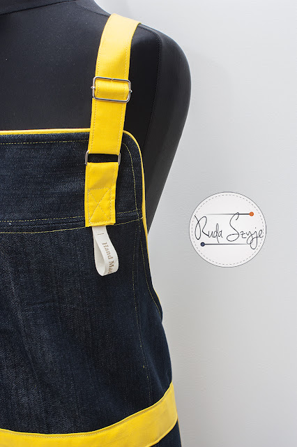kolejny fartuch w wersji dżins!!