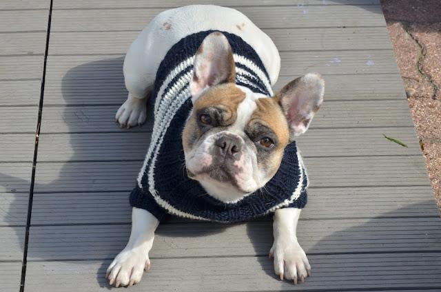Marinière en tricot C'est l'heure de la Promenade -  Oh My Boubous