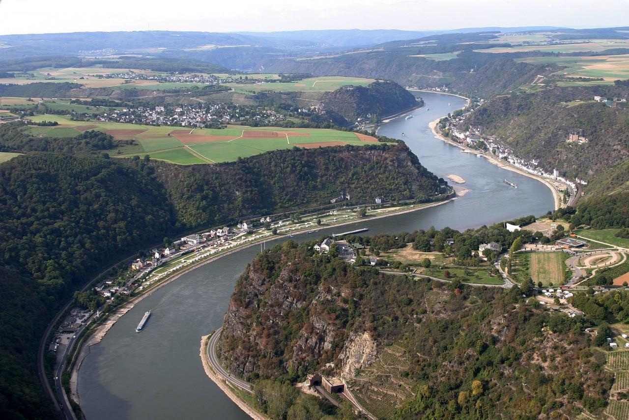 Sungai Rhein Di Jerman - Travel Pelopor Paket Tour Wisata Halal Dunia