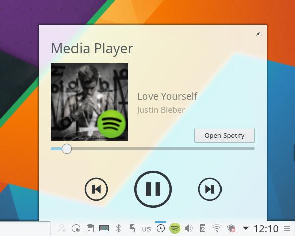 Novo Player de música