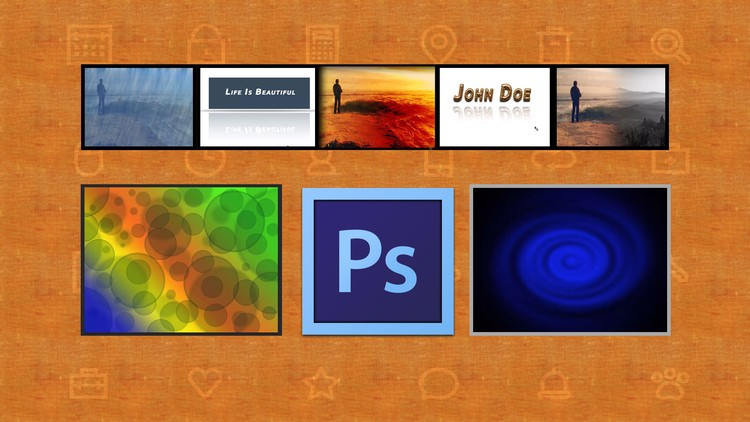 Learn Photoshop : Basics to Advanced - 13 projects included