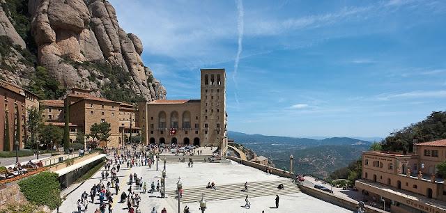 Montserrat na Catalunha