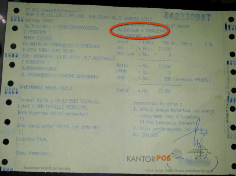 Cara Cek Resi Paket Pos - BISNIS KURIR