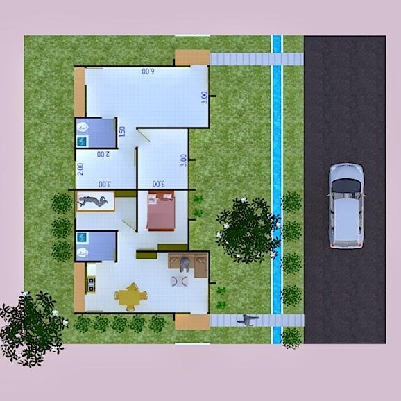gambar rumah sehat
