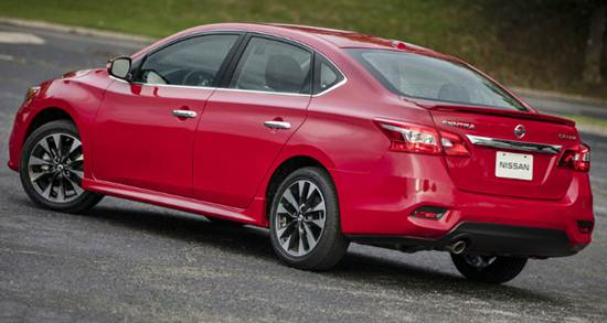 Sentra Turbo among 2017 New Model Standouts
