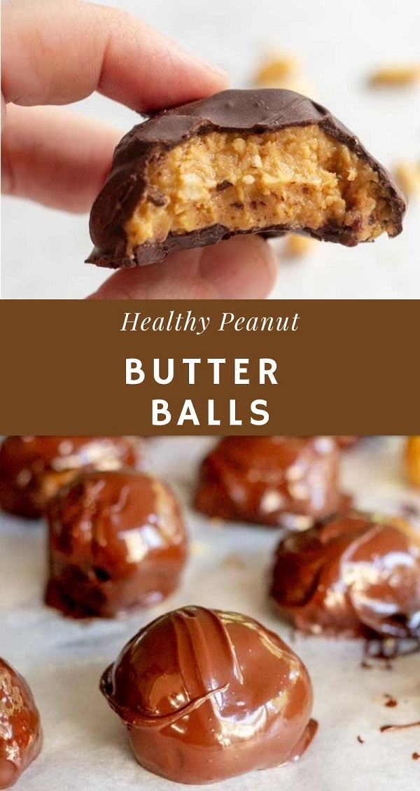 Low Carb Healthy Peanut Butter Balls