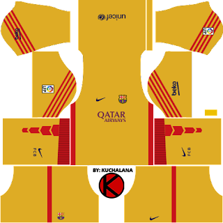 Barcelona Kits 2015/2016 - Dream League Soccer