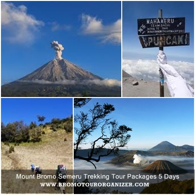 Mount Bromo Semeru Trekking Tour Packages 5 Days