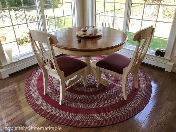 Make a custom size braided rug.