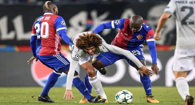 cuplikan gol basel vs manchester united 1-0