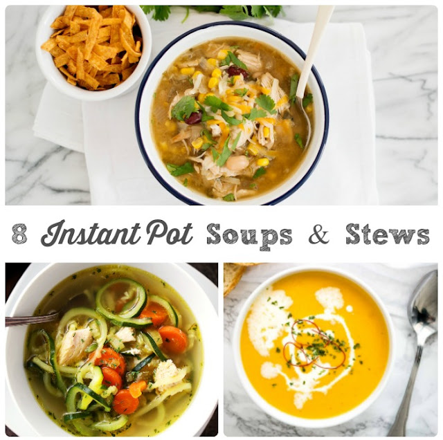 Whip up a pot of hearty & comforting soup or stew in a fraction of the time with this collection of 8 Quick & Easy Instant Pot Soups & Stews recipes.