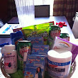 Pregnancy survival kit and congratulation card