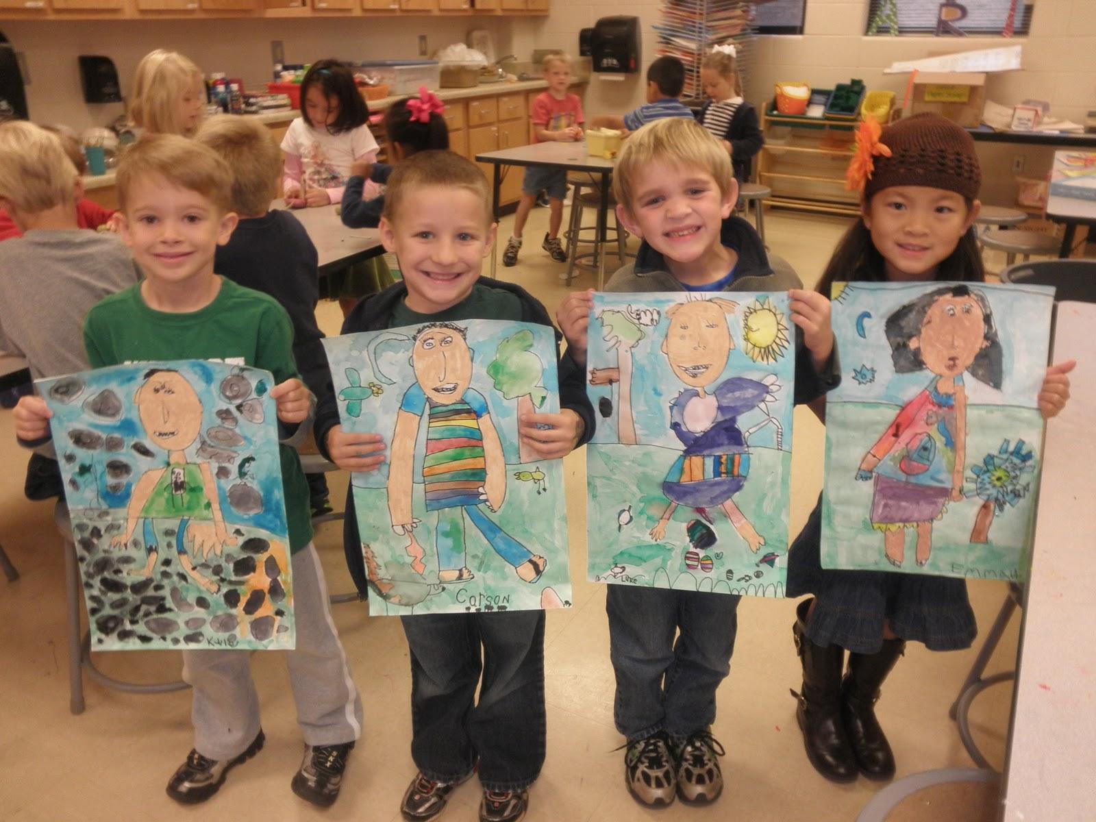 Related Keywords Amp Suggestions For Kindergarten Self Portraits