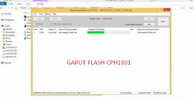 Firmware Oppo A71 2018 Qualcomm CPH1801 Tested File 100%