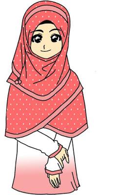 download kartun muslimah terbaru