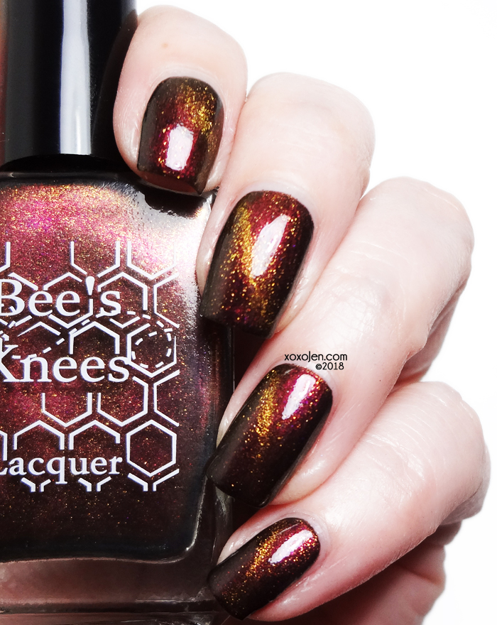 xoxoJen's swatch of Bees Knees Heated