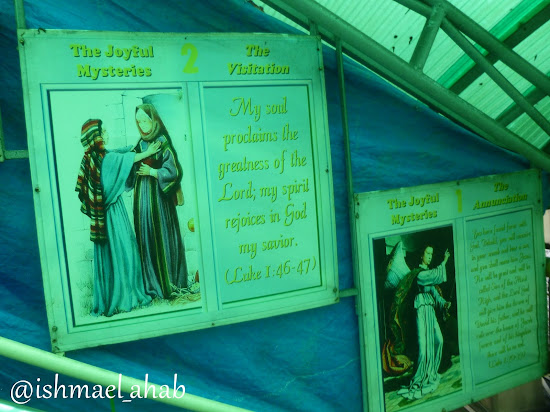 The Joyful Mysteries in Baguio Cathedral