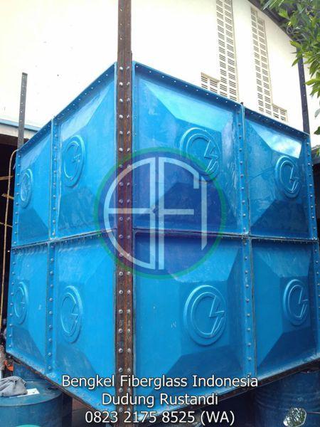 tangki air fiber dan pompa air