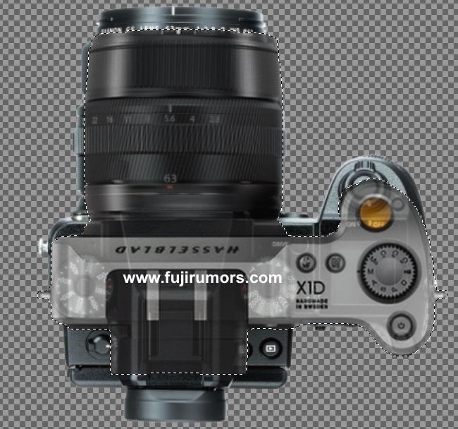 Сравнение габаритов Fujifilm GFX и Hasselblad X1D