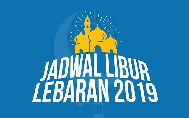 Cuti bersama Lebaran 2019