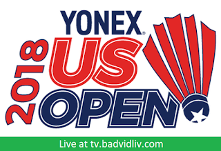 YONEX US Open 2018 live streaming