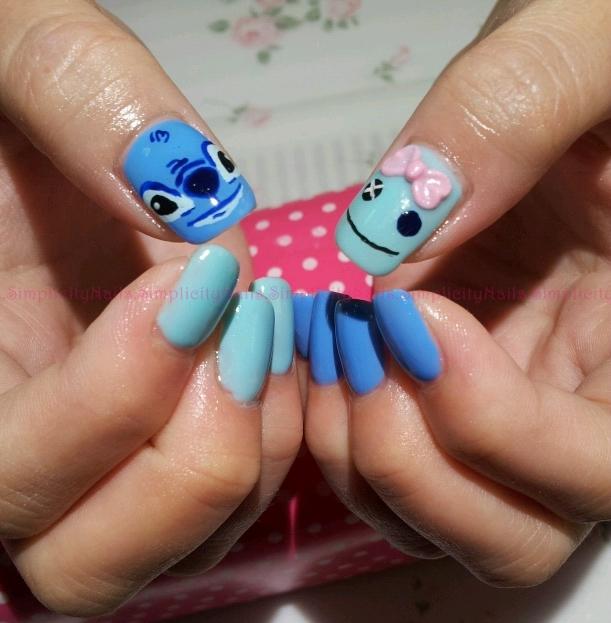 Nail Art Stitch: Simplicity Nails: Stitch & Scrump