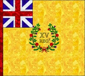 15th Regiment of Foot (Jeffrey Amherst) Regimental Colour
