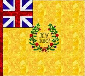 15th Regiment of Foot (Jeffrey Amherst) Regimental Colour