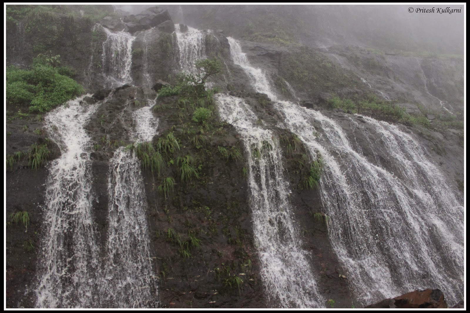Waterfall in Malshej ghat