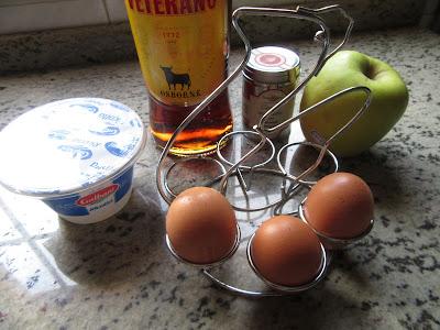 Buñuelos de ricotta y manzana Thermomix