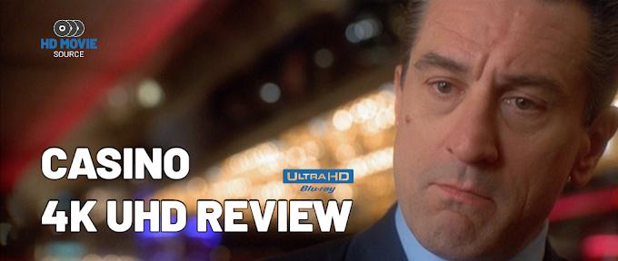 Casino 4K (1995) Ultra HD Blu-ray Review: The Basics
