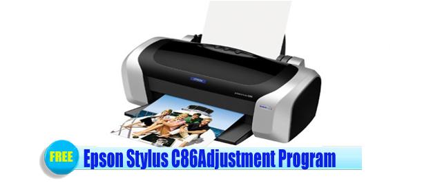 Epson Stylus C86 Adjustment Program