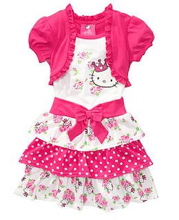 Gambar Baju Hello Kitty Untuk Anak 1