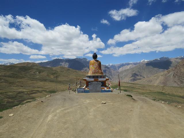 Buddha Statue at Langza