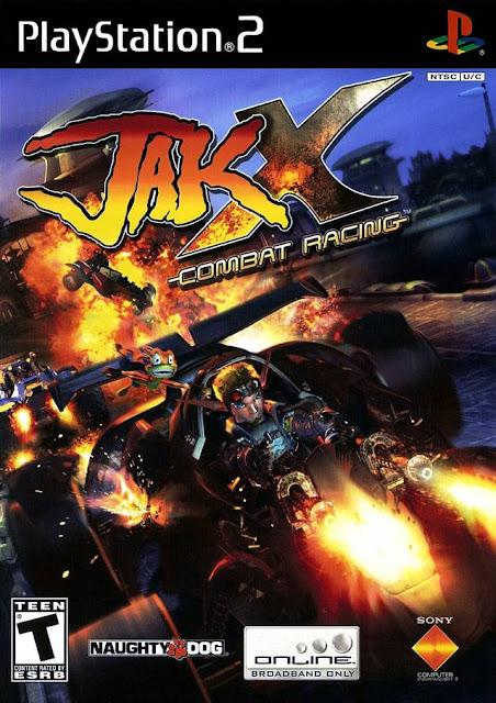 Jak X Combat Racing ps2 iso rom download