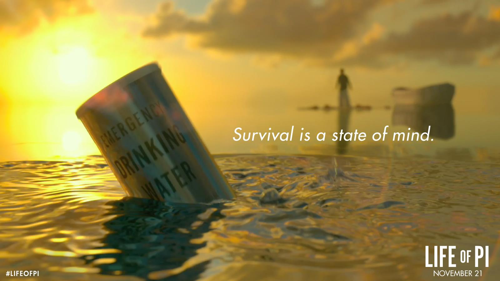 Wallpapers Of Ang Lee's Movie: Life Of Pi