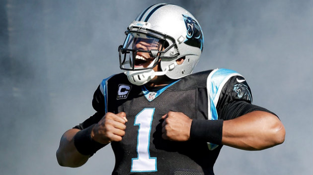Cam Newton, le Quarter Back des Panthers