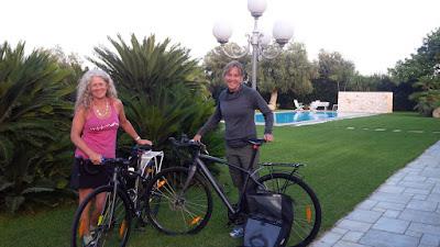 carbon road hybrid bike rental in monopoli apulia puglia italy