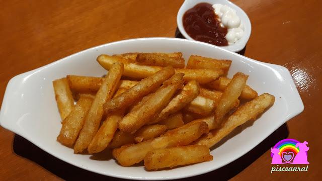 Potato Zesty Fries, teaspoon cafe,
