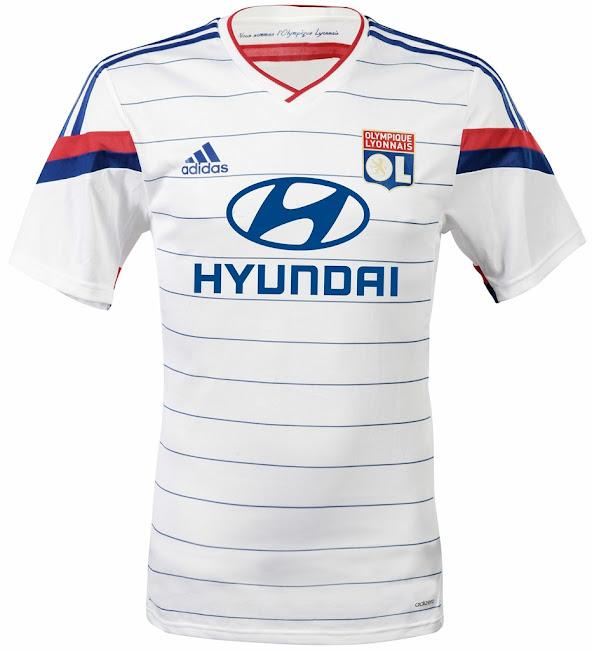 6096d70c New Olympique Lyonnais 14-15 Kits Released - Footy Headlines